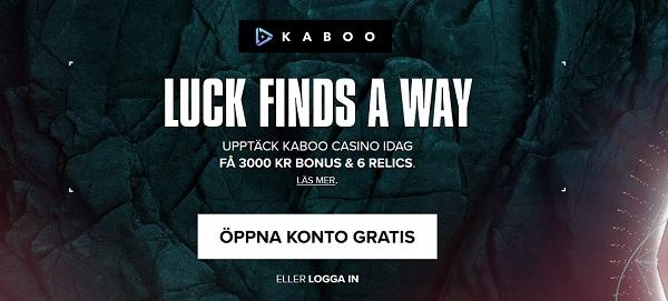 Kaboo – Spela online casino med tuff bonus