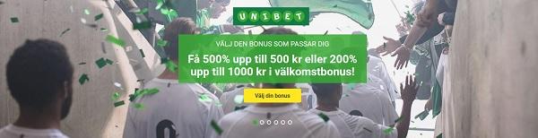 Unibet – Onlinecasino i världsklass