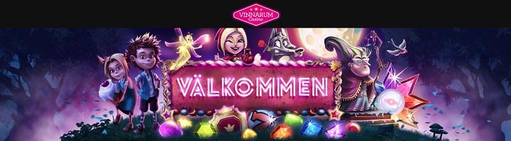 Spela casino med Vinnarums nya bonus